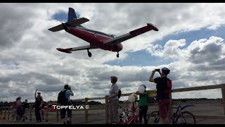 Download Low flying Jet Provost over the plane spotters. I love it ! Video