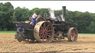 Download Dampf -Traktor pflügt - Steam Tractor plowing Video