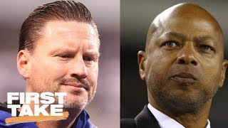 Download First Take reacts to Giants firing head coach Ben McAdoo and GM Jerry Reese | First Take | ESPN Video