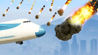 Download METEORITE DISASTER MOD! (GTA 5 Mods Funny Moments) Video