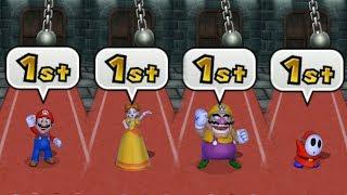 Download Mario Party 9 Garden Battle - Mario vs Daisy vs Wario vs Shy Guy| Cartoons Mee Video