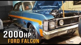 Download 2000+hp Ford XW Falcon! Video