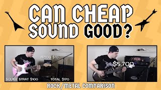 Download CAN CHEAP SOUND GOOD?! (ROCK/METAL COMPARISON) Video