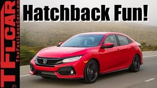 Download 2017 Honda Civic Hatchback Review: Turbo + Manual = Fun! Video