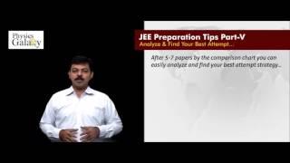 Download JEE Preparation Tips Part V Video
