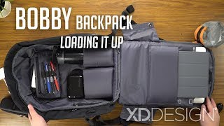Download Bobby Anti-theft Backpack - Loading It Up / XD Design | In-depth Look Video
