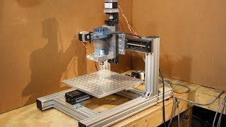 Download Homemade DIY CNC - KR33 Mini CNC System - 1st Test Cut - Neo7CNC Video