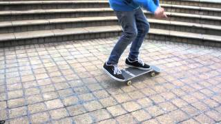 Download Frontside flip 5 stair board snap Video