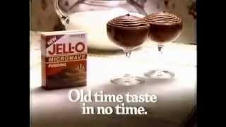 Download Jell-O Microwave Pudding Ad from 1990 Video