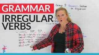 Download Irregular Verbs in English – Group 3 Video