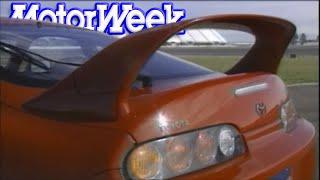Download 1994 Toyota Supra vs. Porsche 968 vs. Stealth vs. 300ZX vs. RX-7 vs. Corvette | Retro Review Video
