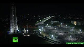 Download La ceremonia de homenaje a Fidel Castro en la Plaza de la Revolución de La Habana Video