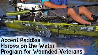 Download Accent Paddles: Heroes on the Water Program for Wounded Veterans Video