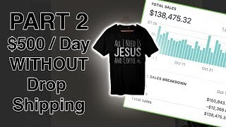 Download (PART 2) Fastest Way To Make $500 Per Day With Shopify Without Drop Shipping Video