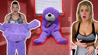 Download TEDDY BEAR COMES TO LIFE *PRANK* (SCARE PRANKS) Video