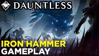Download DAUNTLESS Iron Hammer Gameplay: Hunting the Pangar Video
