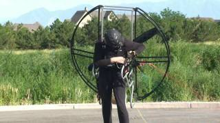 Download World's Easiest Powered Paragliding / Paramotor / Paraglider/ Paramotoring Equipment!! Flat Top!!! Video