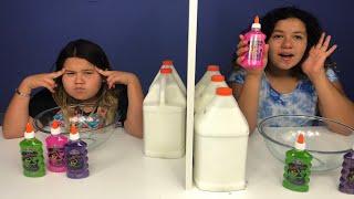 Download Twin Telepathy Slime Challenge! 3 Colors of Glue Slime Challenge Slime Challenge Edition! Video