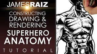 Download HOW TO CONSTRUCT, DRAW AND RENDER SUPERHERO ANATOMY Video