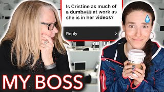 Download Painting my Boss' Nails while she exposes me (real life) Video