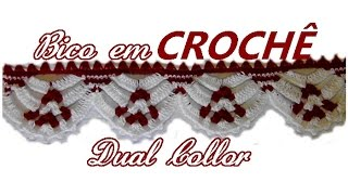 Download BICO EM CROCHÊ DUAL COLLOR♥ Video