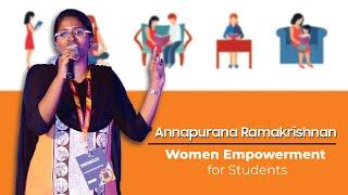 Download Speech on Women Empowerment for Students   ANNAPURANA RAMAKRISHNAN Video