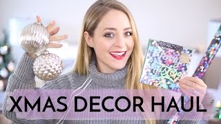 Download CHRISTMAS Decor Haul | Fleur De Force Video