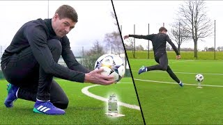 Download STEVEN GERRARD & F2 AMAZING SHOOTING SESSION! *WATER-BOTTLE EDITION* Video
