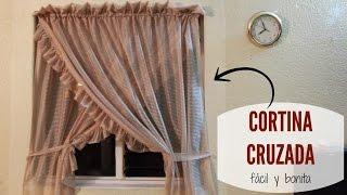 Download Cortina cruzada para ventana - Aprenda Fácil. Video