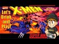 Download Let's Drink & Play X-men: Mutant Apocalypse on SNES (Complete No Death Playthrough) Video