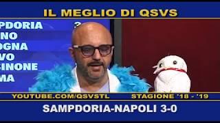 Download QSVS - I GOL DI SAMPDORIA - NAPOLI 3-0 - TELELOMBARDIA / TOP CALCIO 24 Video