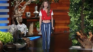 Download The Gorgeous Gigi Hadid's Ellen Debut! Video