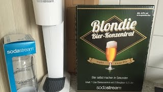 Download Sodastream Blondie Bier-Konzentrat im Männerabend Test Video