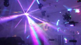 Download Home Disco Lights synchronized to Music 4, Scanners, Moving Heads, Lasers, DMX controlled Video