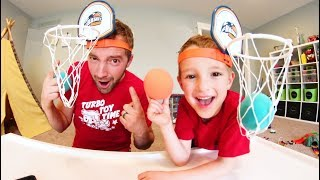 Download Father & Son PLAY BASKET HEAD! Video