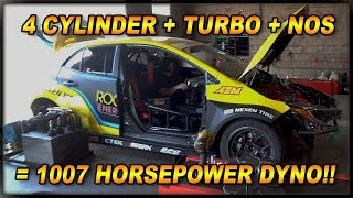 Download Dyno Toyota Corolla RWD Drift Car - 1007 Horsepower 4 Cylinder [4k] Video