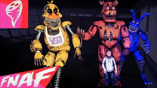Download (SFM FNAF) FIVE NIGHTS AT FREDDY'S 4 SONG (TONIGHT WE'RE NOT ALONE by Ben Schuller) FNAF Music Video Video