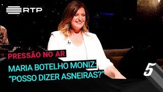 """Download Maria Botelho Moniz: """"Posso dizer asneiras?""""   5 Para a Meia-Noite   RTP Video"""