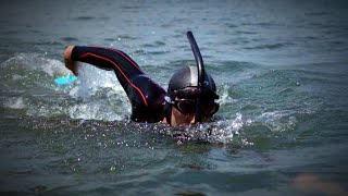 Download 51-Year-Old Man Swimming From Japan to San Francisco to Save the Planet Video