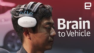 Download Nissan's Brain to Vehicle Concept first look at CES 2018 Video
