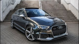 Download FINALLY! 2018 400hp AUDI RS3 SEDAN (5cyl,Turbo) - SHAPE WE'VE BEEN WAITING FOR Video