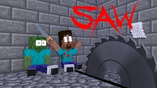 Download Monster School : The Saw Game - Minecraft Animation Video
