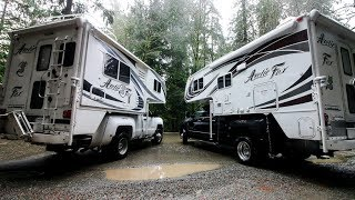 Download Best Truck to Haul a Truck Camper ?   GAS VS DIESEL 1 ton DUALLY ( 2018 Review) Video