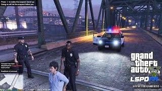 Download GTA 5 - LSPDFR - EPiSODE 71 - LET'S BE COPS - CITY PATROL (GTA 5 PC POLICE MODS FORD EXPLORER) KARMA Video