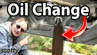 Download How To Change Oil Correctly On A Modern Car Video