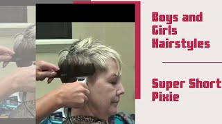 Download (Pixie Haircut) Older Women Short Hairstyles Video