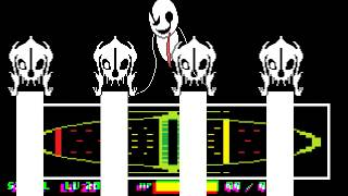 Download undertale genocide route Gaster battle! [undertale fangame]※Phase2 only Video
