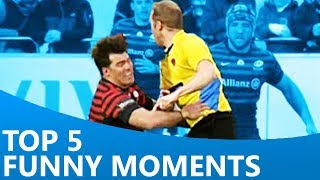 Download Top 5 Funniest Moments of the Season | Funny Rugby Video