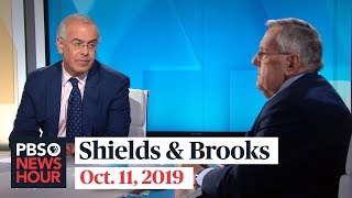 Download Shields and Brooks on Trump's Syria pullout, impeachment politics Video