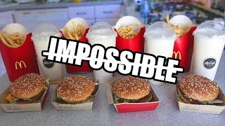 Download The ″Impossible″ Big Mac Challenge DESTROYED Video